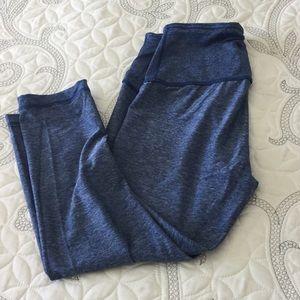 Blue leggings 90 degrees